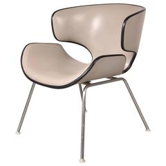 """Easy Chair """"T-3048M"""" by Isamu Kenmochi for Tendo, Japan, 1961"""
