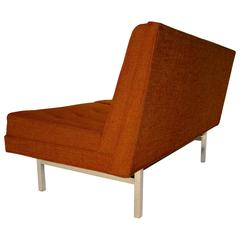 Classic Steelcase 2-Seat, Armless Sofa/Loveseat with Knoll and Nelson Style Cues