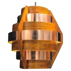 Swedish Copper Pendant by Hans-Agne Jakobsson
