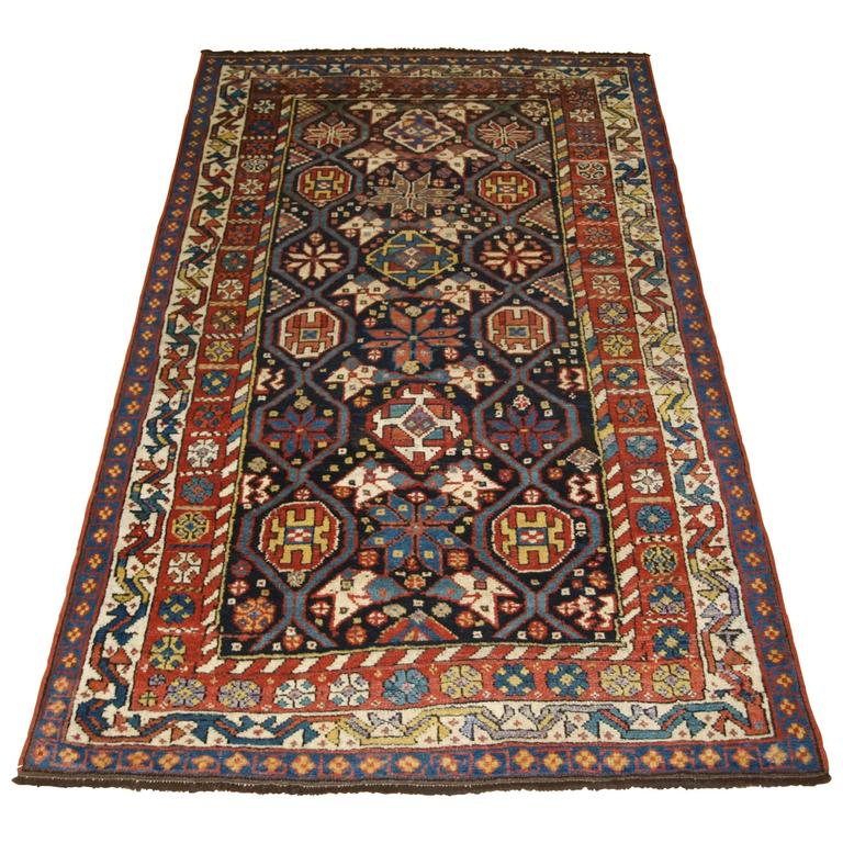 Antique South West Persian Luri Tribal Rug, Circa 1890 At