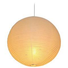 round quotakariquot hanging lamp by isamu noguchi for akari akari furniture