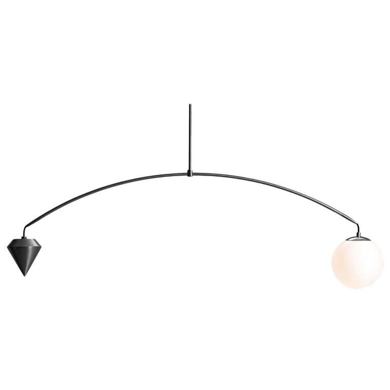 Anna Karlin Satin Black Arc Light