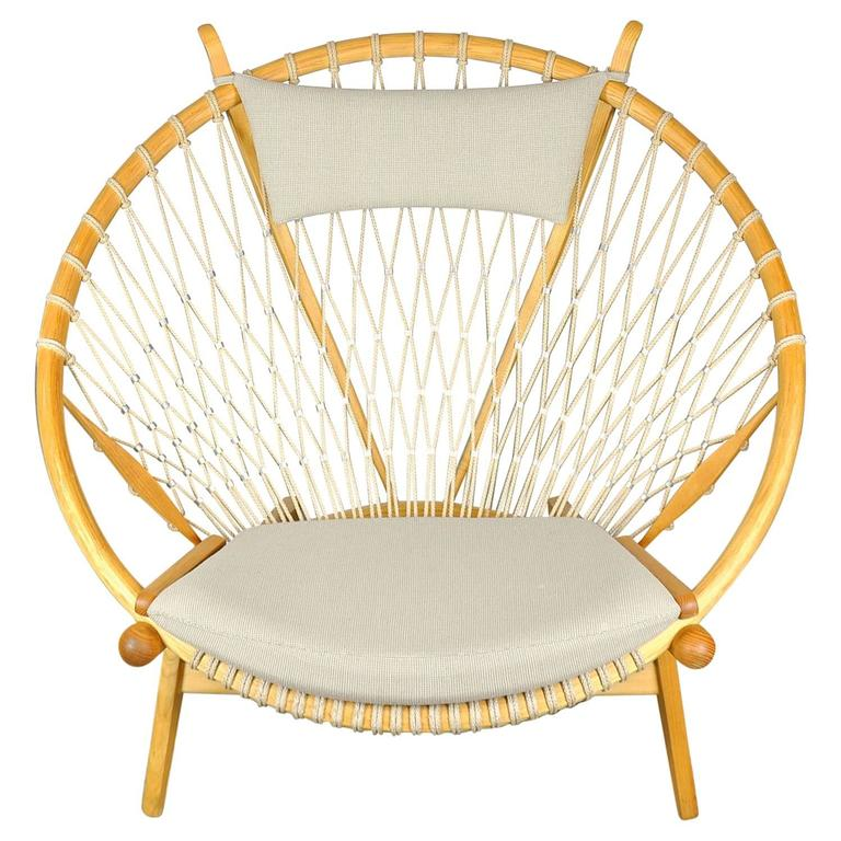Circle Chair hans wegner for pp mobler pp130 circle chair at 1stdibs