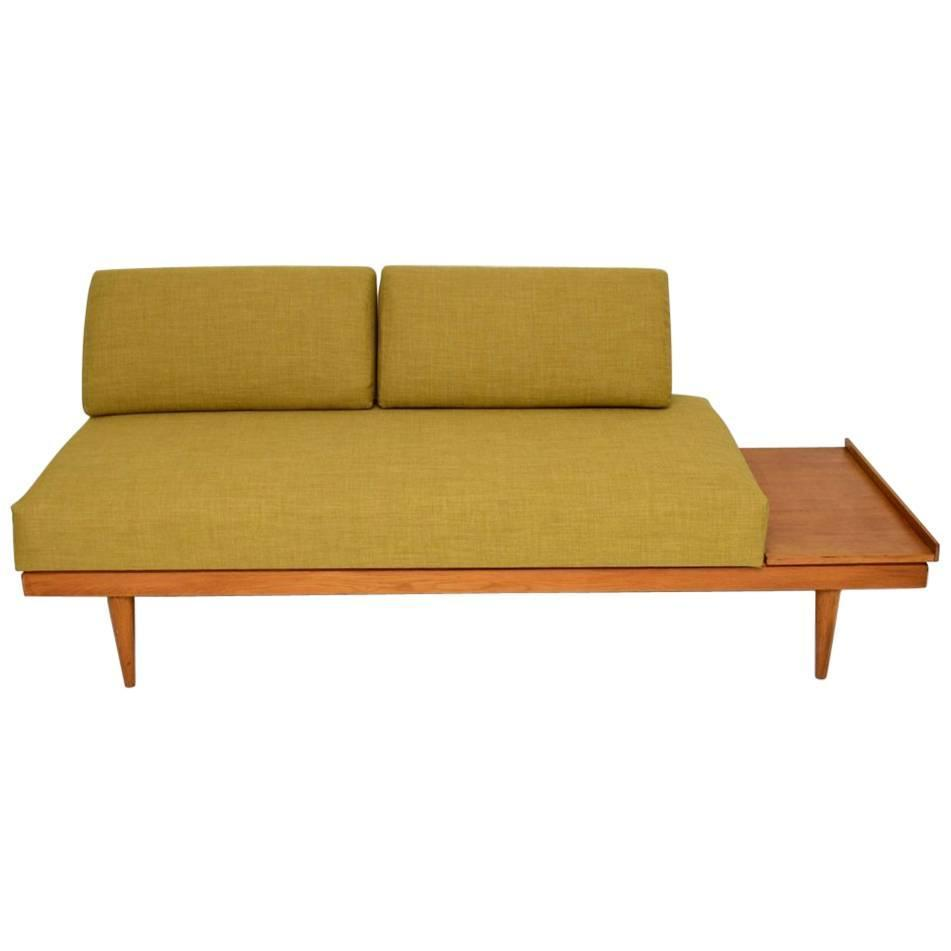 retro sofa bed or day bed by ingmar relling vintage 1960s. Black Bedroom Furniture Sets. Home Design Ideas