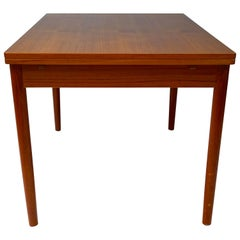 Midcentury Modern Scandinavian Teak Dining Table created by Niels O. Møller