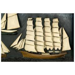 Folk Art Ship Diorama