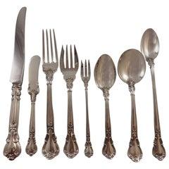 Chantilly by Gorham Sterling Silver Flatware Set 18 Service Dinner 165pc Huge!