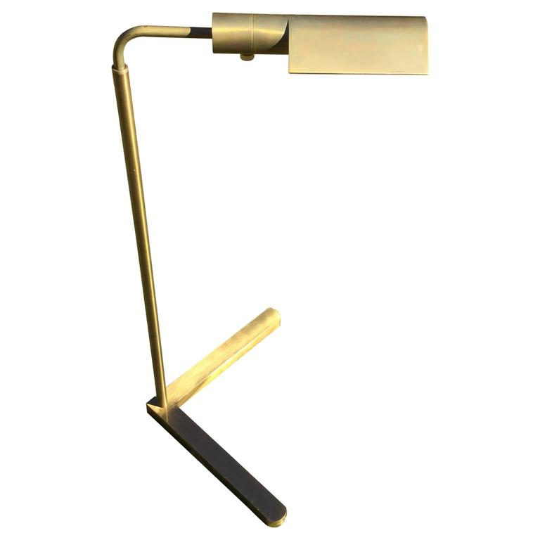Mid-Century Casella Bronze Reading Light After Cedric Hartman