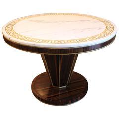 Italian Art Deco Style Center-Game Table