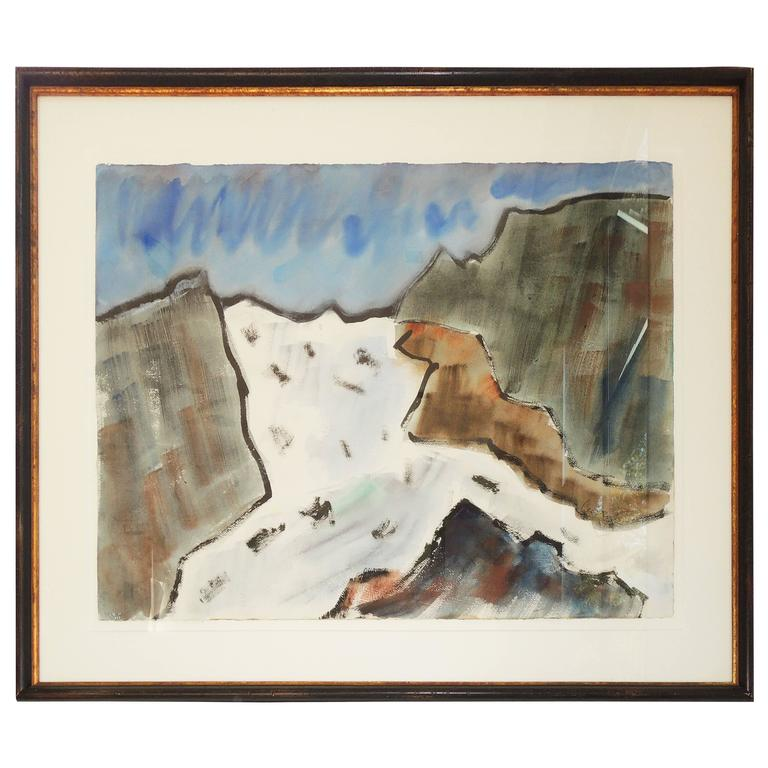 Abstract Landscape by Leo Brooks For Sale