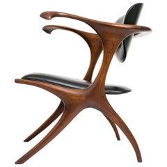 Early and Rare Evert Sodergren 'Sculptured' Chair, circa 1955