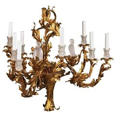 English chinoiserie bamboo and lacquer chandelier for sale at 1stdibs unusual gilt chinoiserie chandelier aloadofball