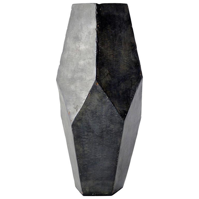 Vessel No 1 by JM Szymanski in Blackended Steel