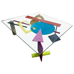 """""""Memphis"""" Coffee Table by Peter Shire"""