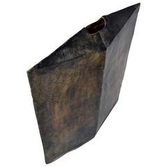 Vessel No. 4 by JM Szymanski in Blackened Steel