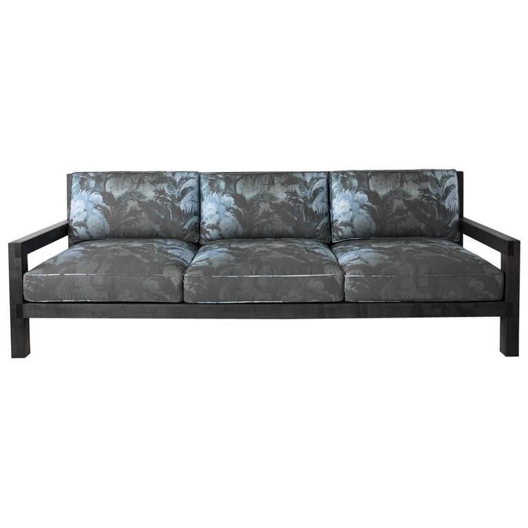 Maxwell Sofa by Dane Co. - Natural Latex, American Hardwood, Customizable