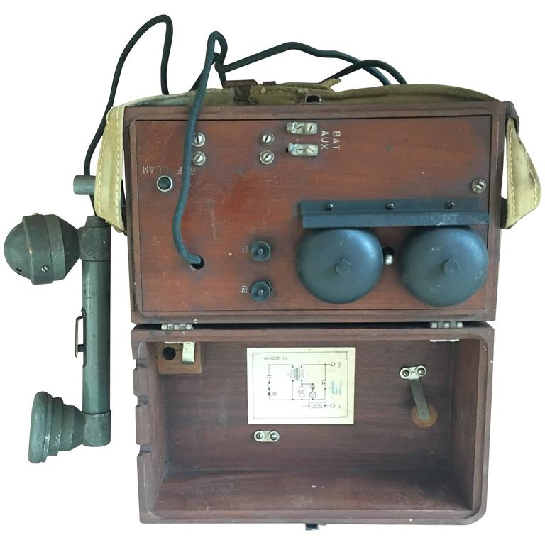 Campaign or Military Telephone