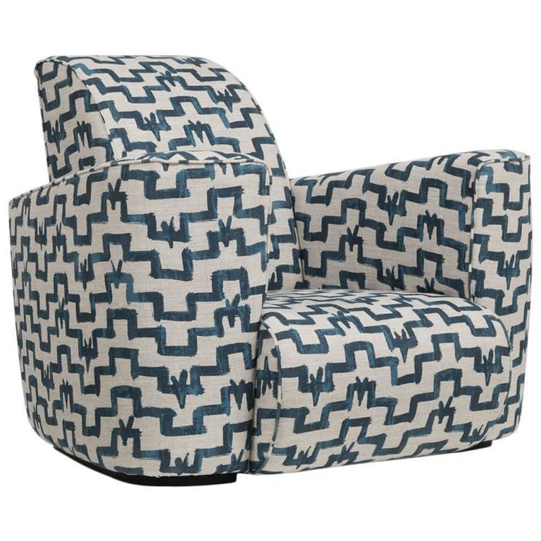 Deco Club Chair by Talisman Bespoke