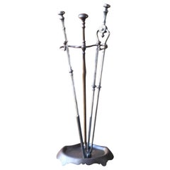 19th Century, English Fireplace Tools, Fire Tools
