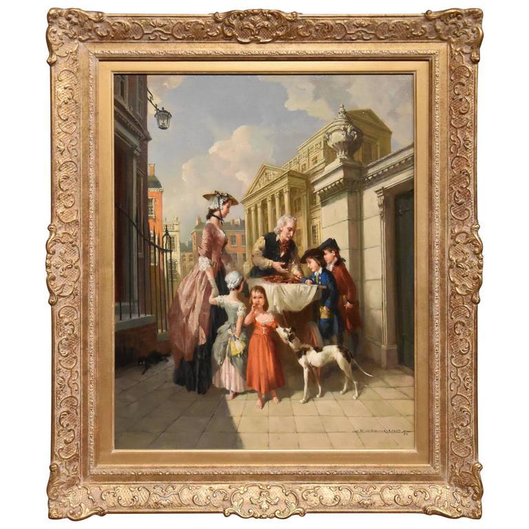 """A Gingerbread Seller"" by Vernon Ward"