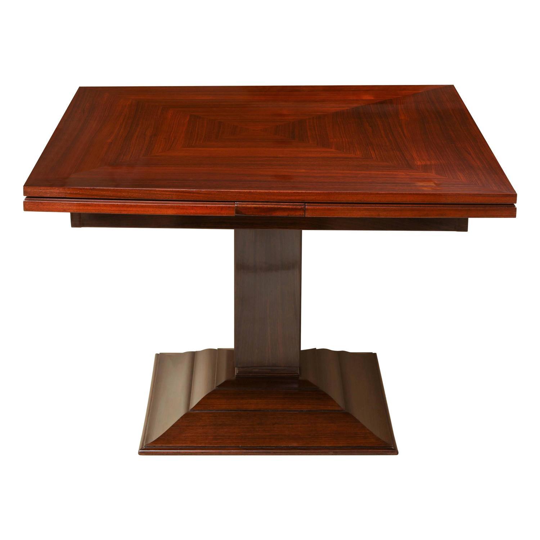Ruhlmann french art deco rosewood extension table model - Thermochip deco precio ...
