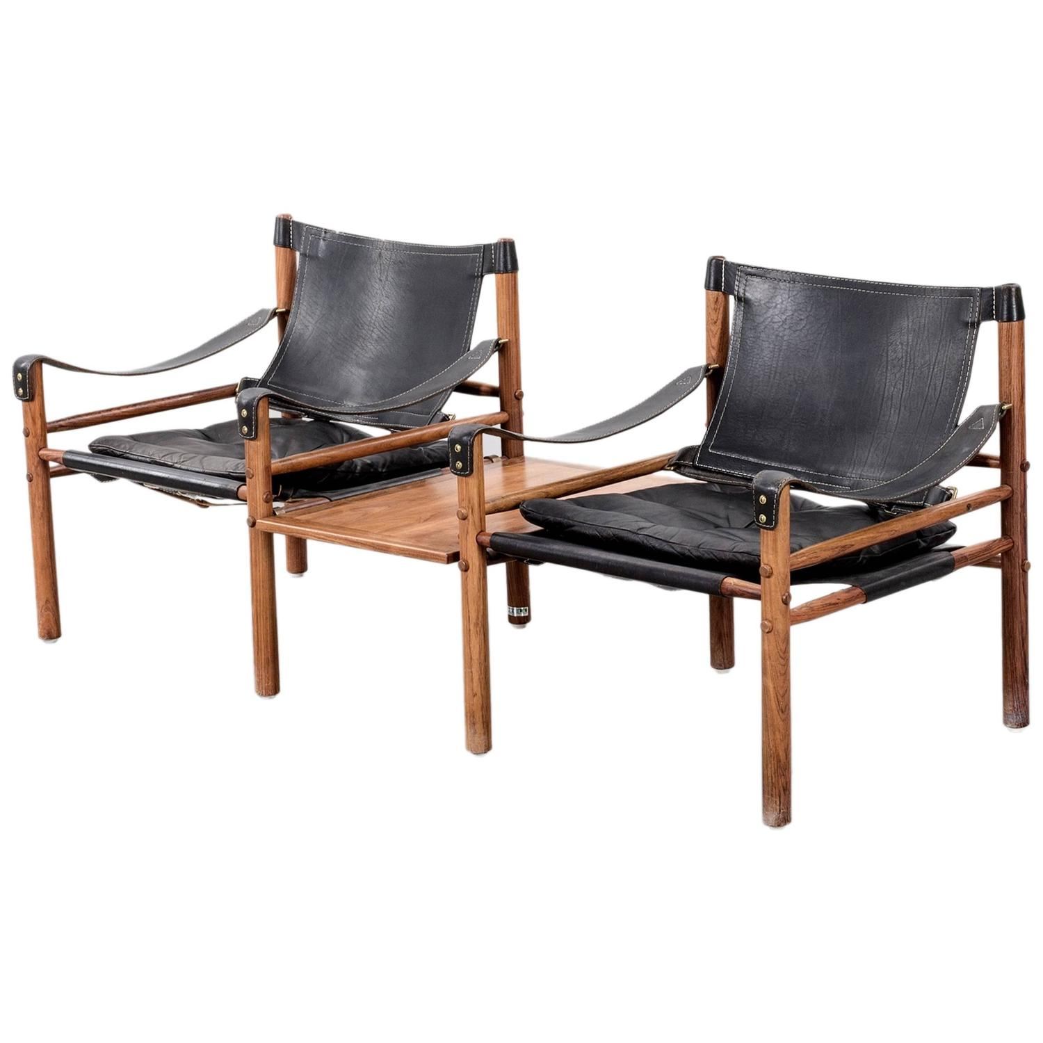 Furnitureinfashion Is Offering Very Affordable Arctic: Arne Norell Safari Sirocco Chairs In Rosewood With