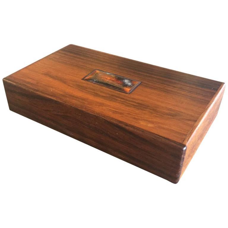 Bodil Eje Danish Rosewood Box / Humidor by Alfred Klitgaard