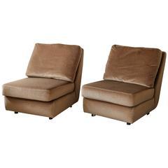 Pair of Mid-Century Burov Chairs
