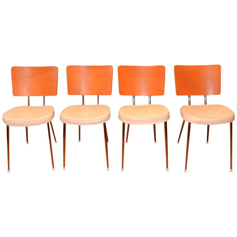 Set of Four Lundi Ravioli Chairs by Philippe Starck for xO