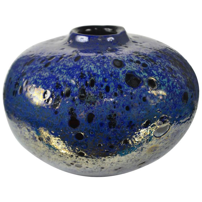 Glass Vase by Franco Deboni 'Milano,' Italy, 2016 1