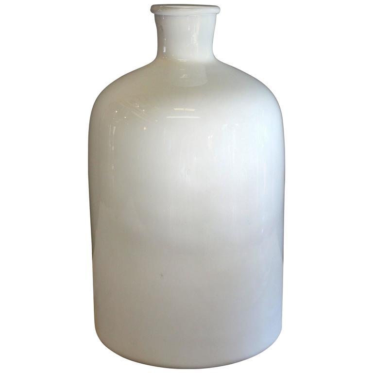 Modern Milk Glass Vase For Sale At 1stdibs