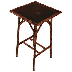 Lacquered Chinoiserie Side Table