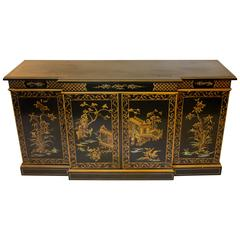 Chinoiserie Console Cabinet