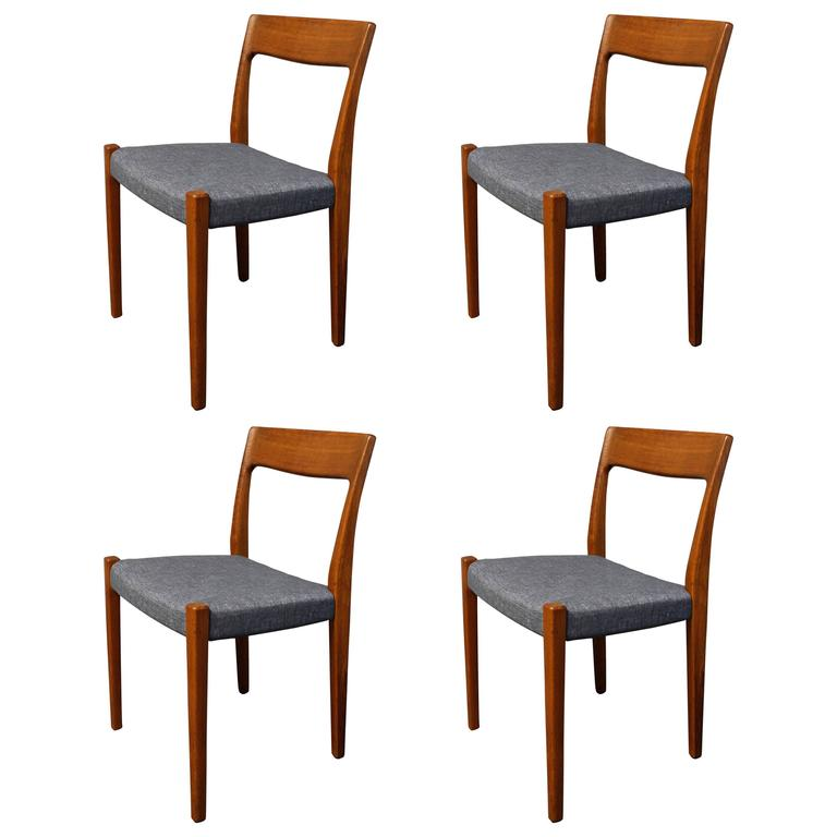 Four Svegards Markaryd Teak Dining Chairs