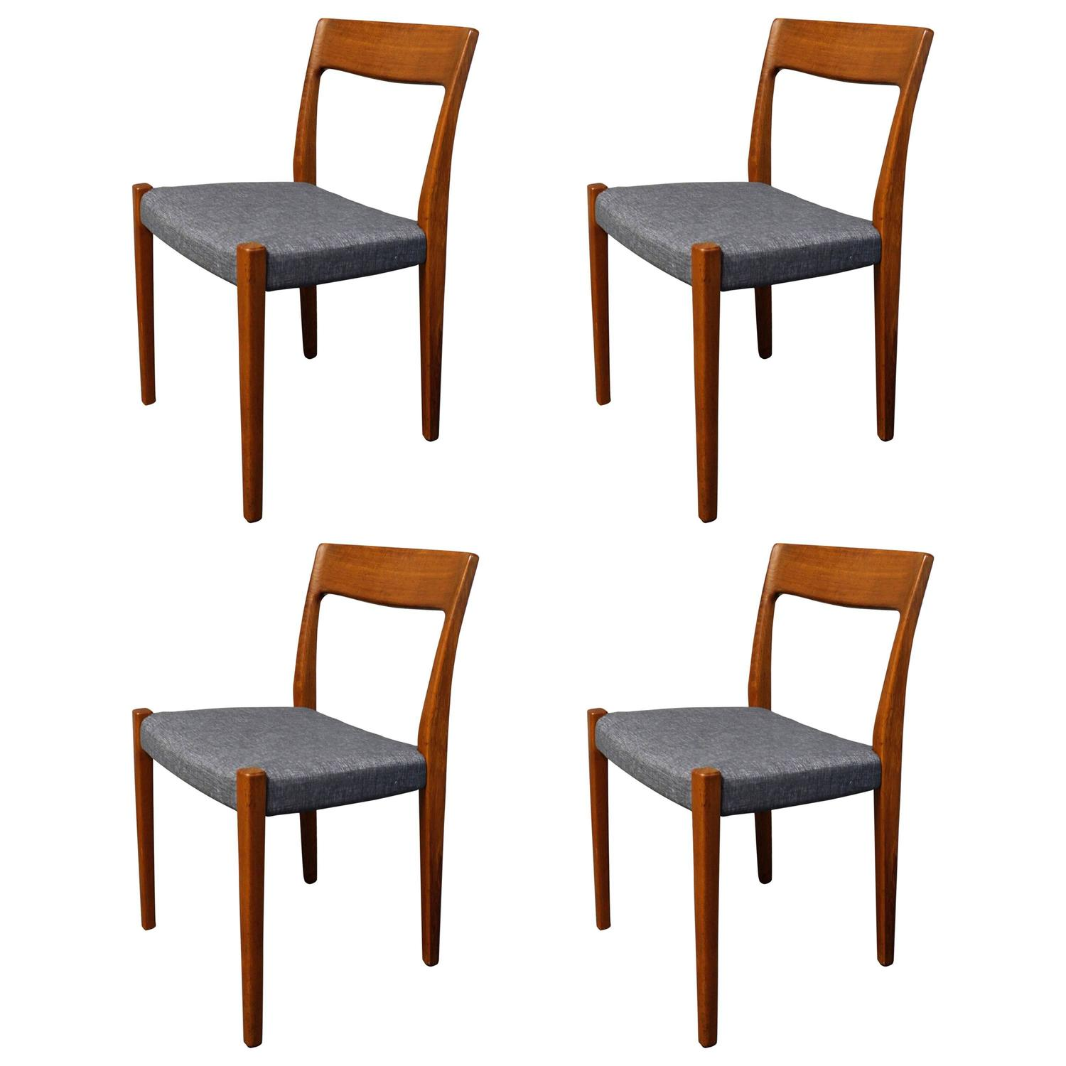 Four svegards markaryd teak dining chairs for sale at stdibs