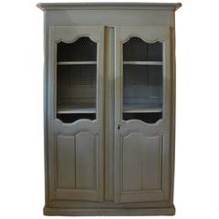 Greige Wired Armoire