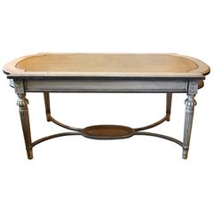 Gustavian Cane Top Table