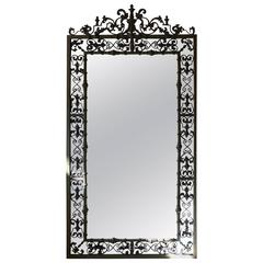 New Orleans Style Verdigris Mirror