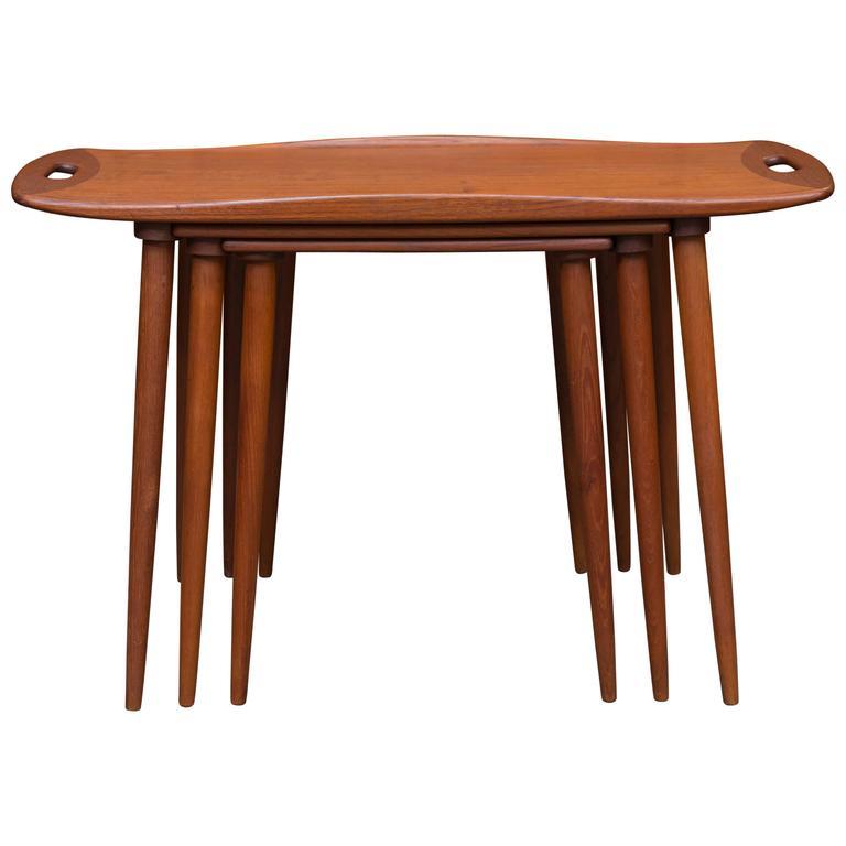 Jens Quistgaard Nesting Tables