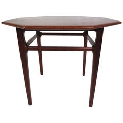 Mid-Century Modern Octagonal Side Table by Mersman