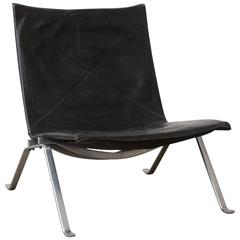 1956, Poul Kjaerholm for E. Kold Christensen, PK22 Lounge Chair