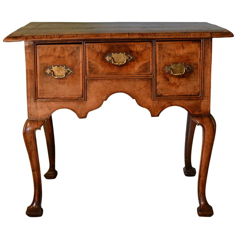 18th Century Walnut Lowboy 1