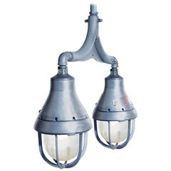 Crouse-Hinds Double Explosion Proof Chandelier