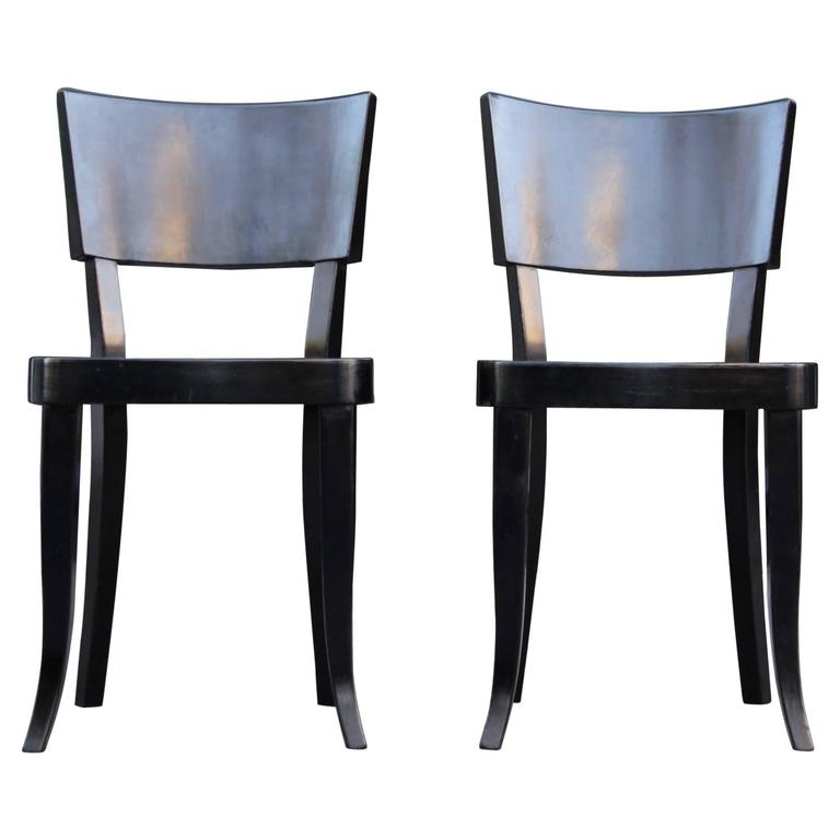 Pair of Rare Josef Frank Sidechairs