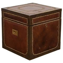 Regency Brass and Leather Campaign Box