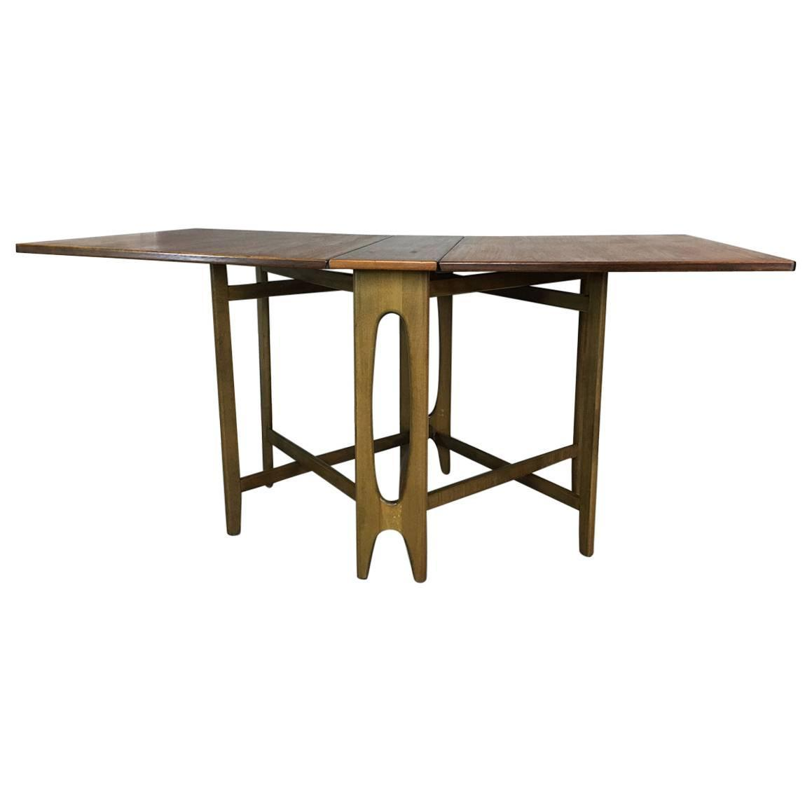 Drop Leaf Gate Leg Table In The Style Of Bruno Mathsson