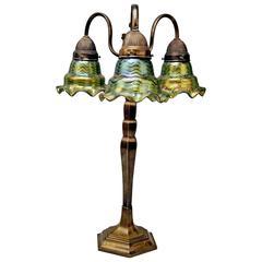 Table Lamp Pallme Koenig & Habel Elisabeth Factory Bohemia Art Nouveau made 1920