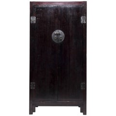 Tall Chinese Two Door Cabinet, c. 1850