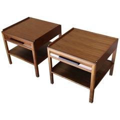 Large-Scale End Tables by Edward Wormley