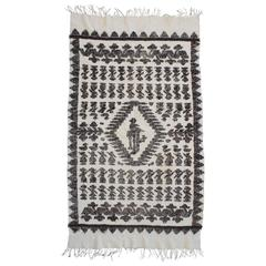19th Century Handwoven South American Indian Weaving